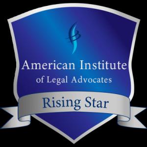 Attorney in McAllen, rising star logo